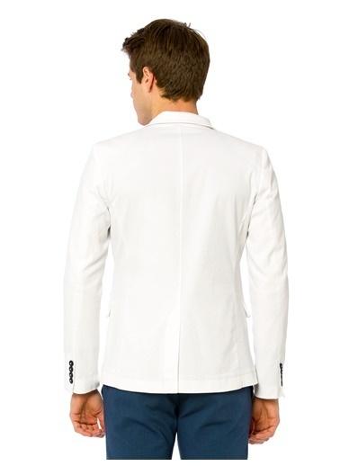 LC Waikiki Blazer Ceket Beyaz